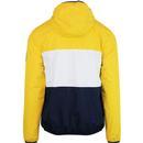 Trio ELLESSE Men's Full Zip Retro Jacket in Yellow