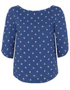 Mabel EMILY AND FIN Retro 1960s Geo Square Top