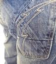 FLY53 'Not Exactly' Mens Indie Vintage Worn Jeans