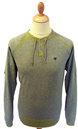 Yaddia FLY53 Mens Retro Indie Knitted Jumper (GMY)