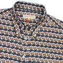 Beers FAR AFIELD Mod Button Down Collar Shirt W