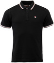 FILA VINTAGE MATCHO 3 RETRO STRIPE COLLAR POLO