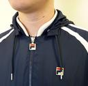 FILA Vintage 'Love Windbreaker' Retro Indie Jacket