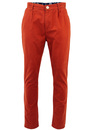 Phoenik FLY53 Retro Indie Turn Up Tapered Chinos