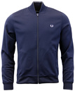 FRED PERRY RETRO INDIE MOD BOMBER TRACK TOP