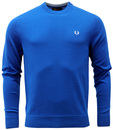 FRED PERRY RETRO KNITTED CREW NECK SWEATER