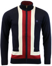 GABICCI VINTAGE Mod Concealed Zip Knitted Cardigan