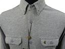 GABICCI VINTAGE 'Scifo' Mens Retro Mod Shirt (GM)