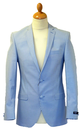 GIBSON LONDON Summer Stripe Retro 60s Mod Blazer