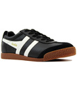 GOLA HARRIER RETRO INDIE 70S LEATHER TRAINERS