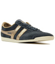 GOLA BULLET WOMENS RETRO SUEDE TRAINERS