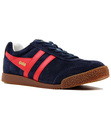 GOLA HARRIER WOMENS RETRO 70S SUEDE TRAINERS