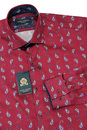 GUIDE LONDON 60s Mod Paisley Micro Square Shirt W