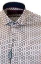 GUIDE LONDON Retro 60s Psychedelic Circle Shirt