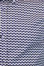 GUIDE LONDON Retro Op Art Tear Drop Print Shirt