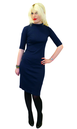Super Spy HEARTBREAKER Retro Mod Wiggle Dress (N)