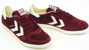 HUMMEL Victory Low Indie 70s Mod Suede Trainers TP