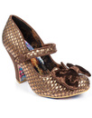 Fancy This IRREGULAR CHOICE Retro Vintage Heels