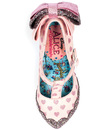 My Cup Of Tea IRREGULAR CHOICE Retro Womens Heels