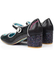 Tick Tock IRREGULAR CHOICE Sparkly Retro Heels