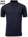 Roth JOHN SMEDLEY Retro Mod Pique Knitted Polo N