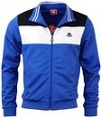 KAPPA CORINA BLOCK PANEL RETRO TRACK TOP BLUE