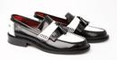 'Rudeboy Special' Mens Retro Mod Tassel Loafers BW