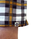 LAMBRETTA Mens Retro Indie Summer Swim Shorts