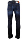 Daren LEE Retro Slim Leg Strong Hand Denim Jeans