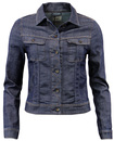 LEE WOMENS RETRO SLIM RIDER WESTERN DENIM SHIRT