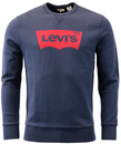 LEVIS RETRO 1970S GRAPHIC CREW FLEECE SWEATSHIRT