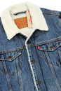 LEVI'S® Retro Denim Type 3 Sherpa Trucker Jacket