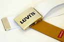LEVI'S® Retro Seventies Indie Canvas Buckle Belt W