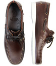 Frigate LUKE 1977 Retro Sixties Leather Boat Shoes