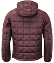 Southy LUKE Retro 1970s Quilted Hooded Jacket (S)