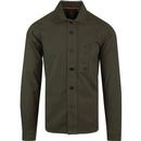 Luke 1977 men's moleskin shirt khaki