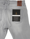 Vacuum LUKE 1977 Stretch Denim Skinny Jeans - Grey