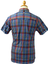 Top Jolly LUKE 1977 Retro Mod Chambray Check Shirt