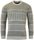 LYLE & SCOTT CHUNKY KNIT FAIR ISLE JUMPER