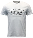 LYLE AND SCOTT RETRO INDIE FESTIVAL GRAPHIC TEE