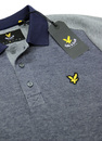 LYLE & SCOTT Retro Indie Two Tone Textured Polo