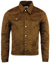 Ealing MADCAP ENGLAND 60s Mod Faux Suede Jacket