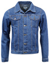 MADCAP ENGLAND RETRO 60s 70S DENIM JACKET MOD