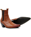 Outlaw MADCAP ENGLAND Mod Cuban Chelsea Boots (Br)