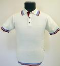 Berwick Short Sleeve MADCAP Mens Retro Polo Top W