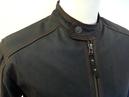 Hopper Retro Indie Leather Racer Jacket by MADCAP