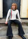 'Racing Italia' MADCAP Mod Button Shoulder Jumper
