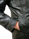 West 1 Gibson Retro Leather Jacket by MADCAP (Bl)