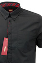 Baxter MERC Mens Retro Mod Short Sleeve Shirt (B)