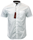 MERC BAXTER RETRO MOD 60S BUTTON DOWN SHIRT